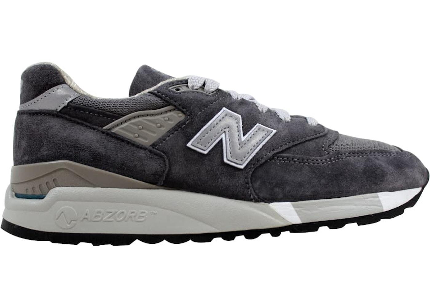 on sale d3773 2f90e New Balance 998 Grey/Charcoal (W)