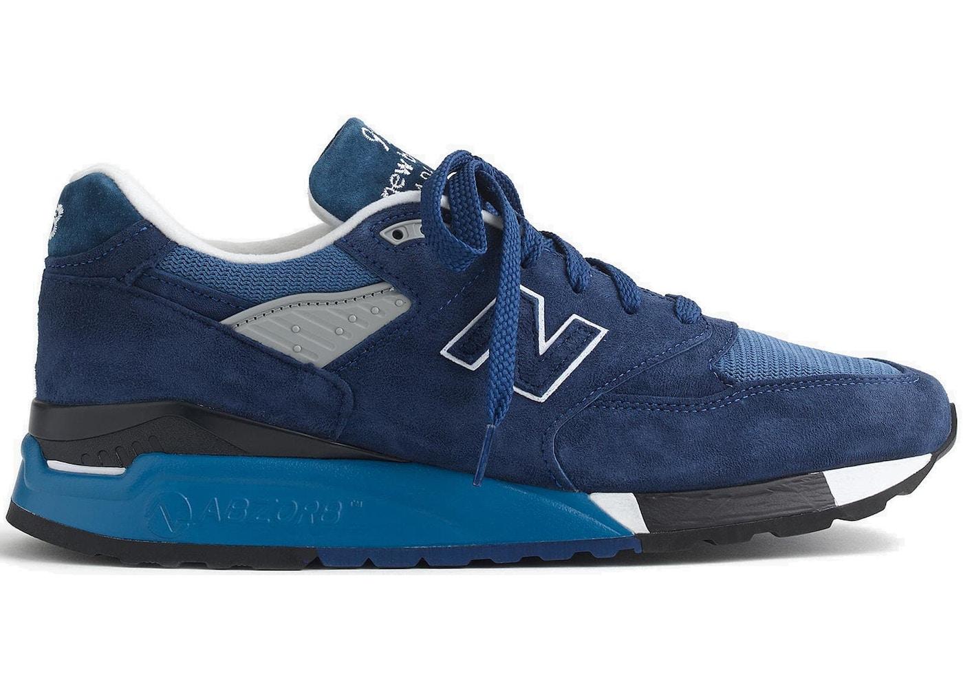 san francisco 434c2 5bd05 New Balance 998 J. Crew Crater Lake - Sneakers