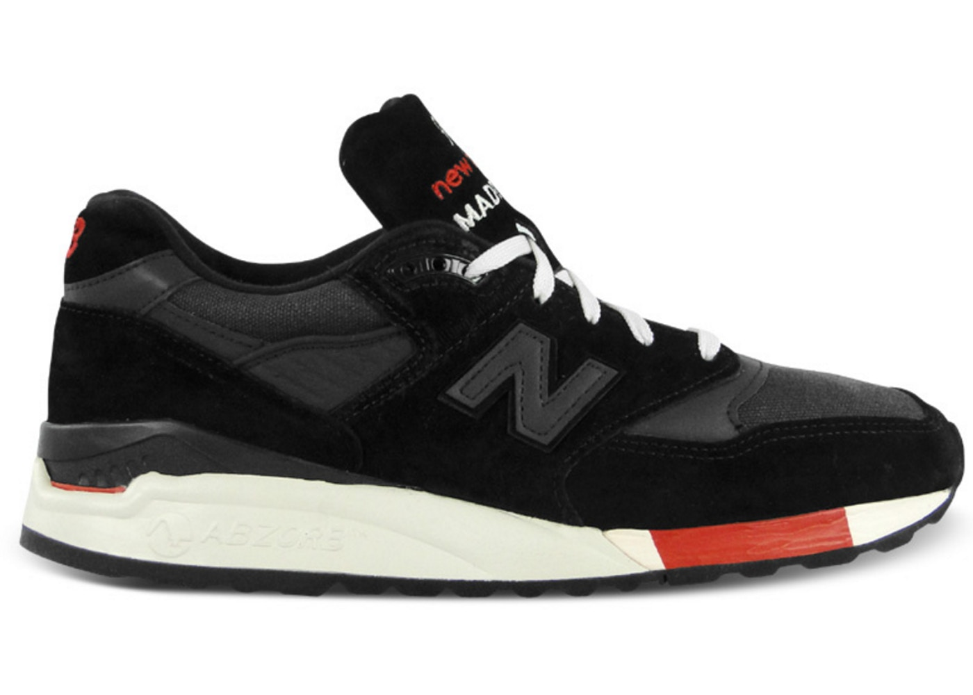 the latest ae495 35a48 New Balance 998 Kithstrike Black Red