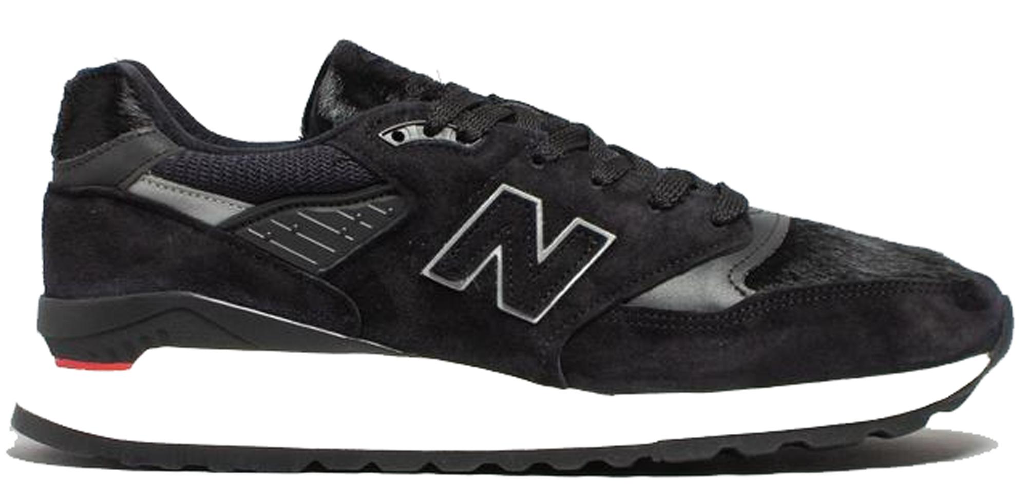 new balance 998 all black