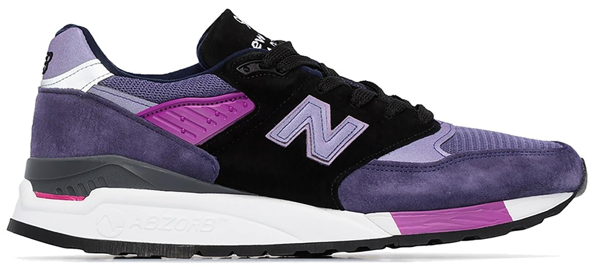 New Balance 998 Purple Black - M998BLD