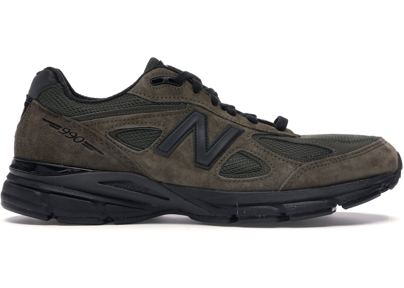 timeless design 9b2ea 3a4ec New Balance 990v4 Running Course Military Green