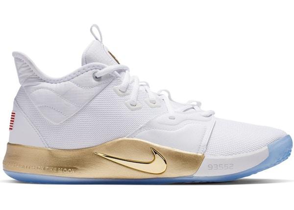 separation shoes 8d899 c7ea6 Nike PG 3 NASA White (GS)