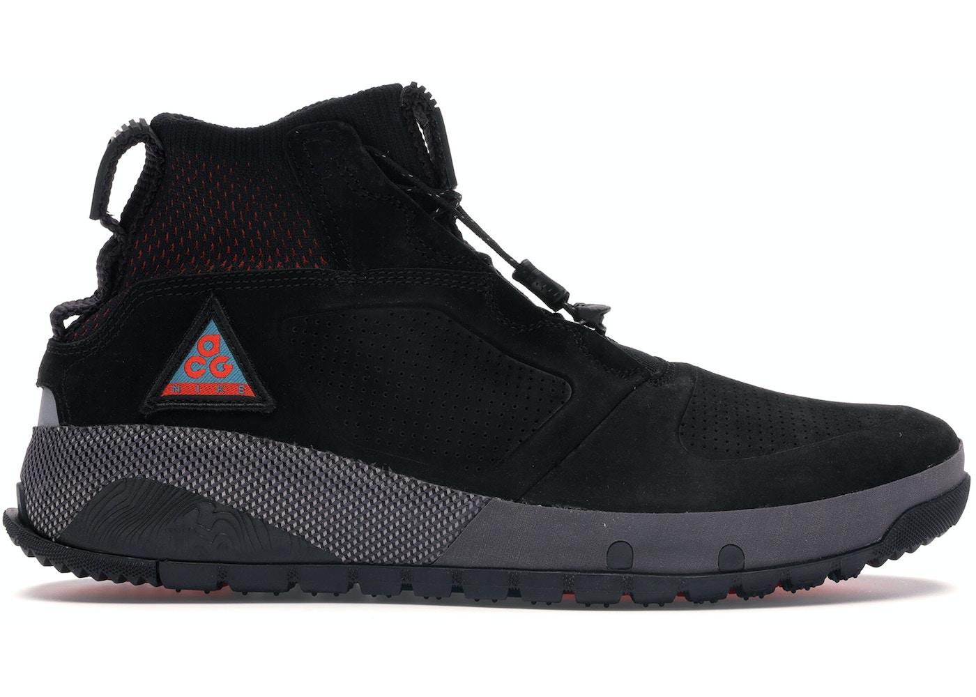 pas cher pour réduction fb242 07e5c Nike ACG Ruckel Ridge Black Habanero Red