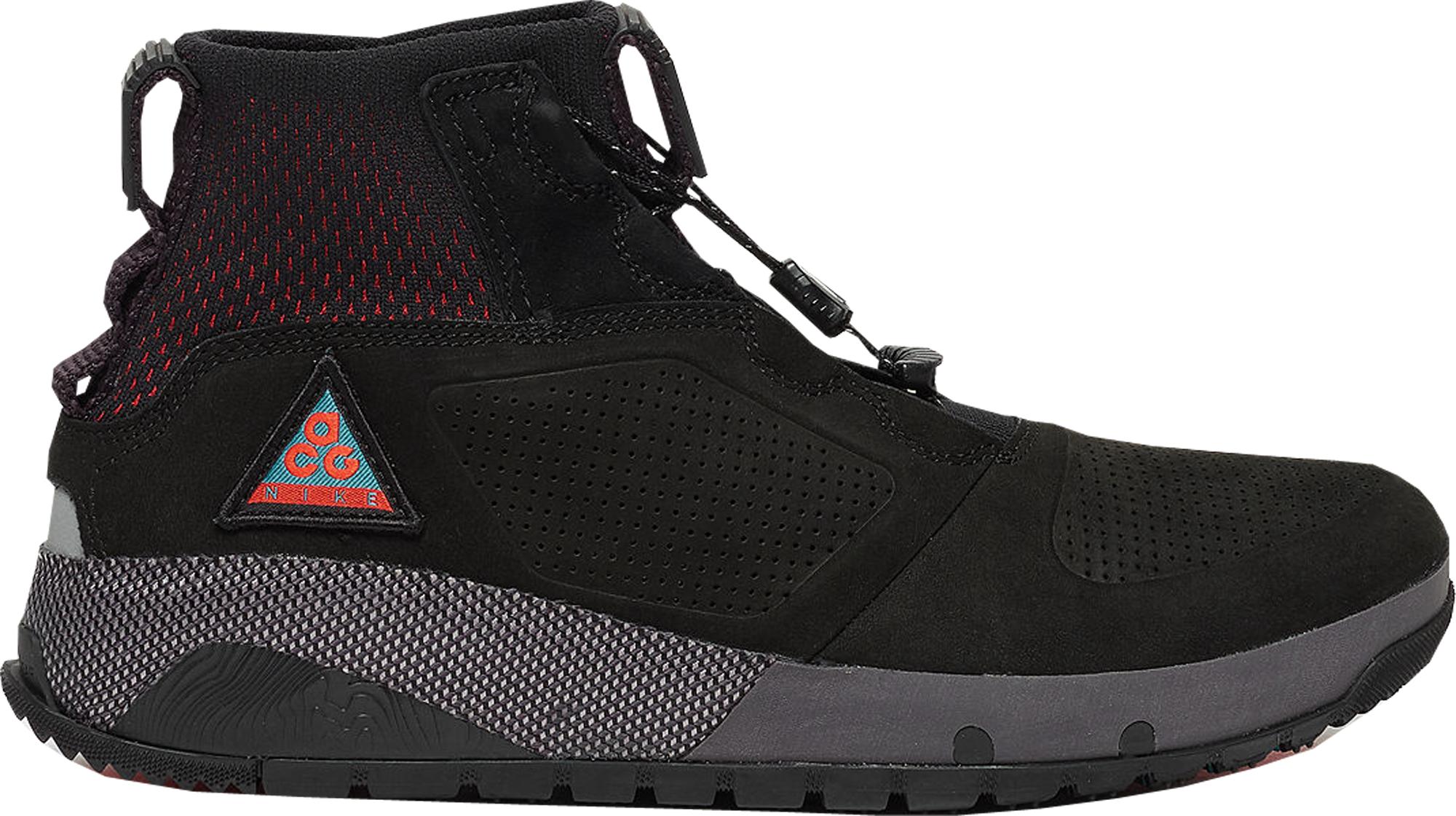 Nike ACG Ruckel Ridge Black Habanero Red