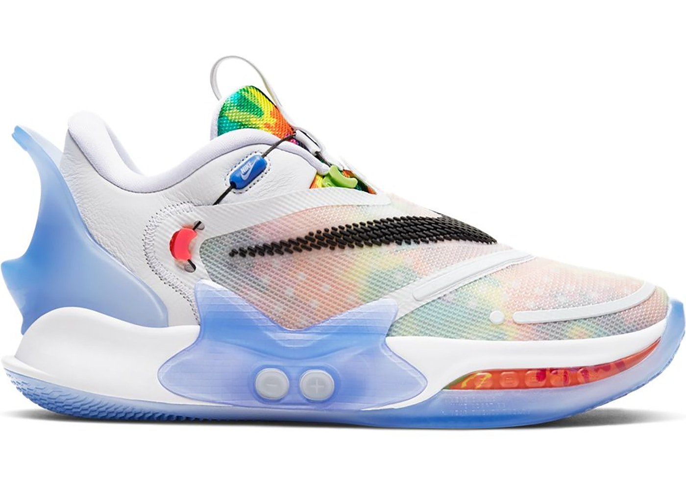 Nike Adapt Bb 2 0 Tie Dye Us Charger Bq5397 100