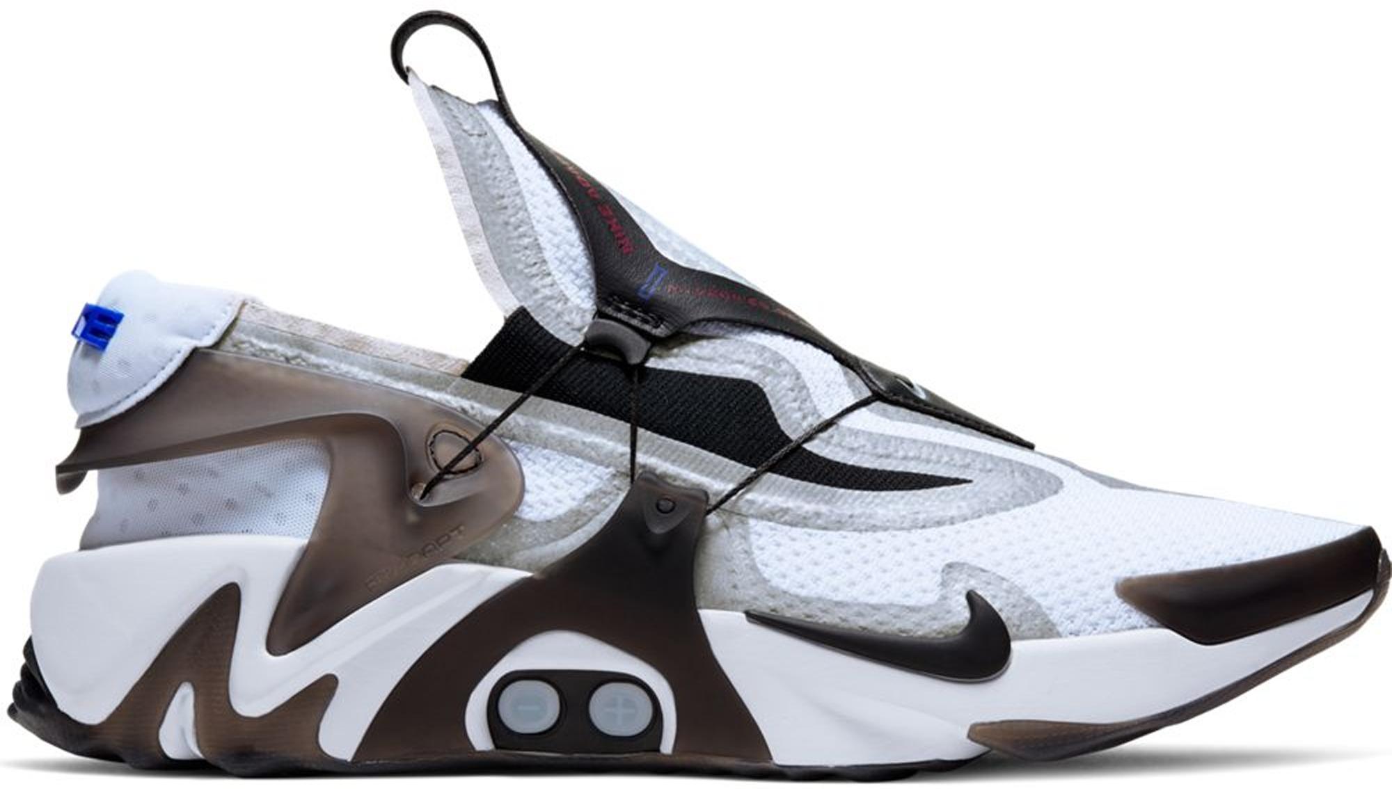 Nike Adapt Huarache White Black • Buy