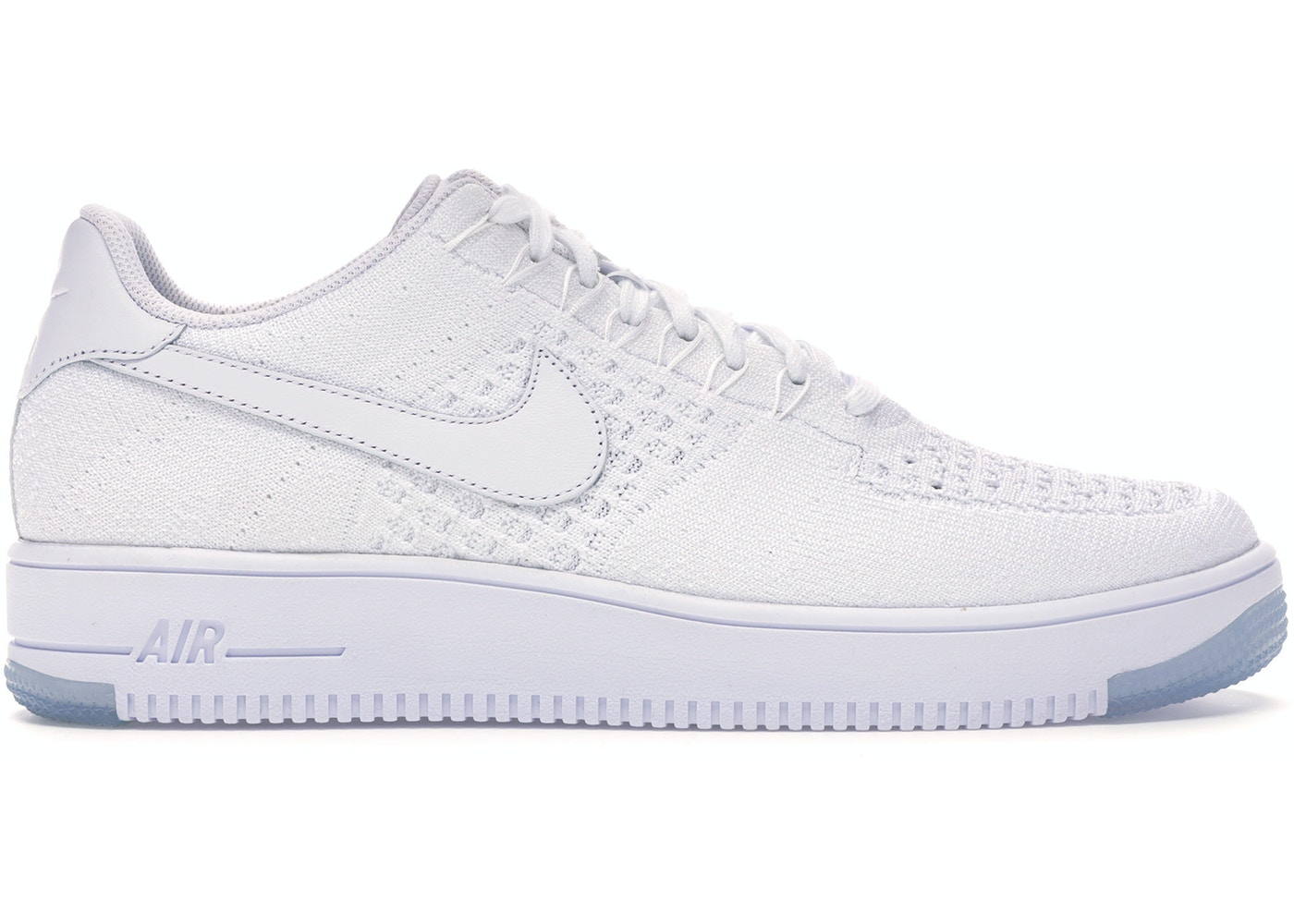 new style best value incredible prices Nike Af1 Ultra Flyknit Low White/White-Ice - 817419-100