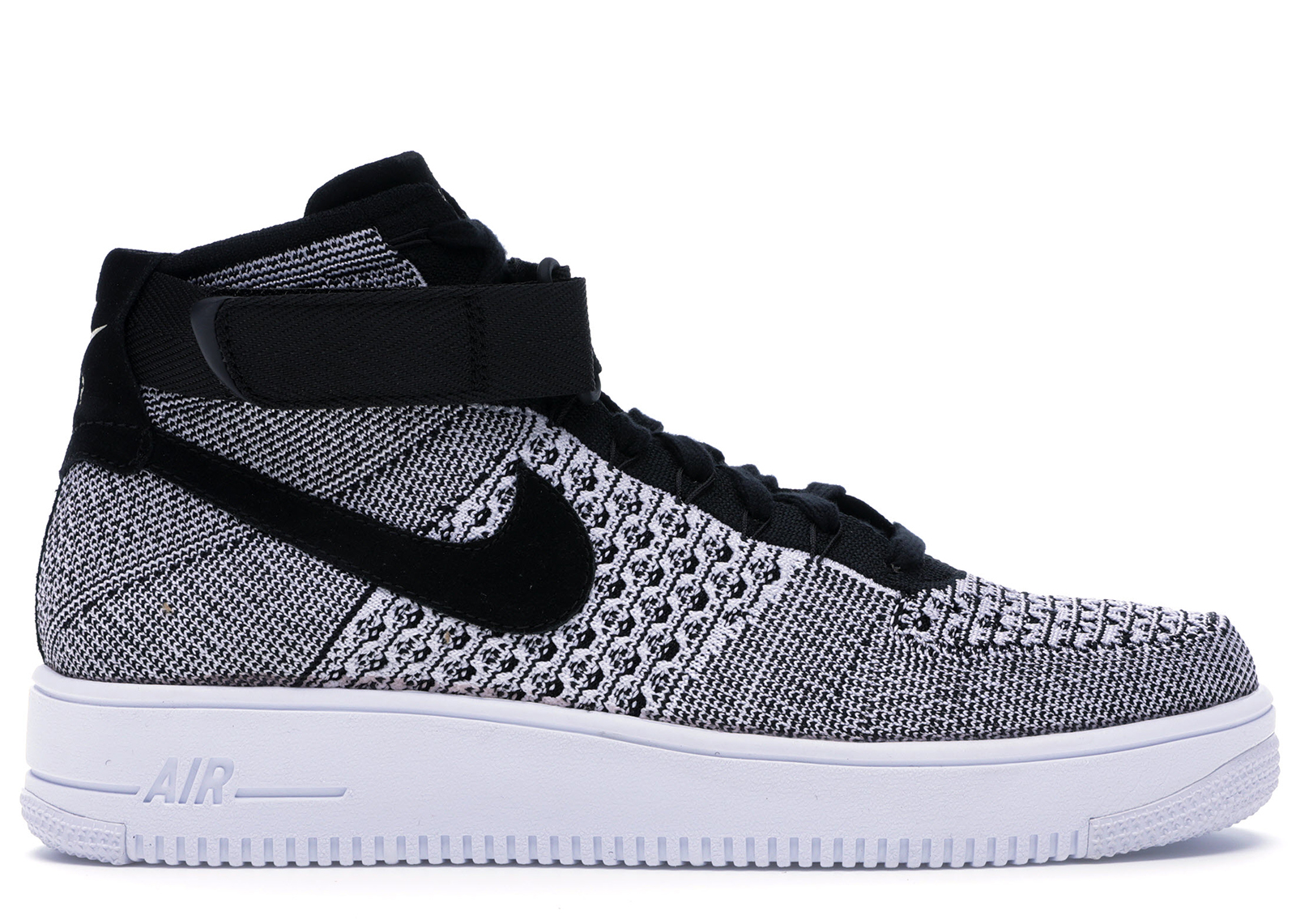 Nike Af1 Ultra Flyknit Mid Black/Black