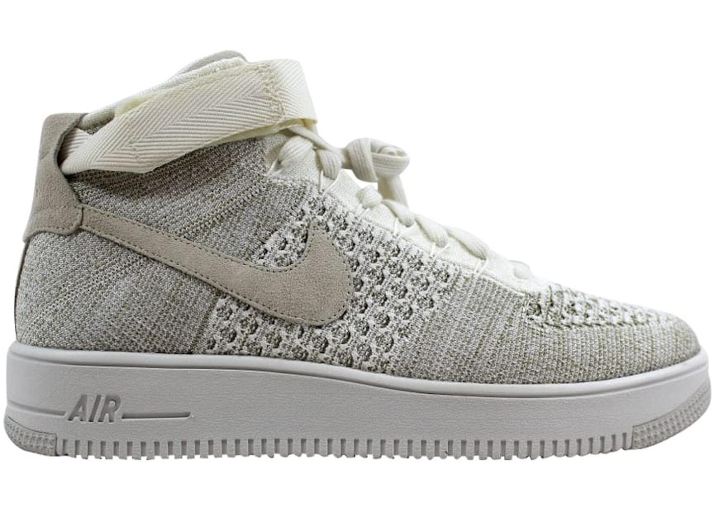 size 40 b9e55 99e05 Nike Af1 Ultra Flyknit Mid Sail/Sail-Pale Grey