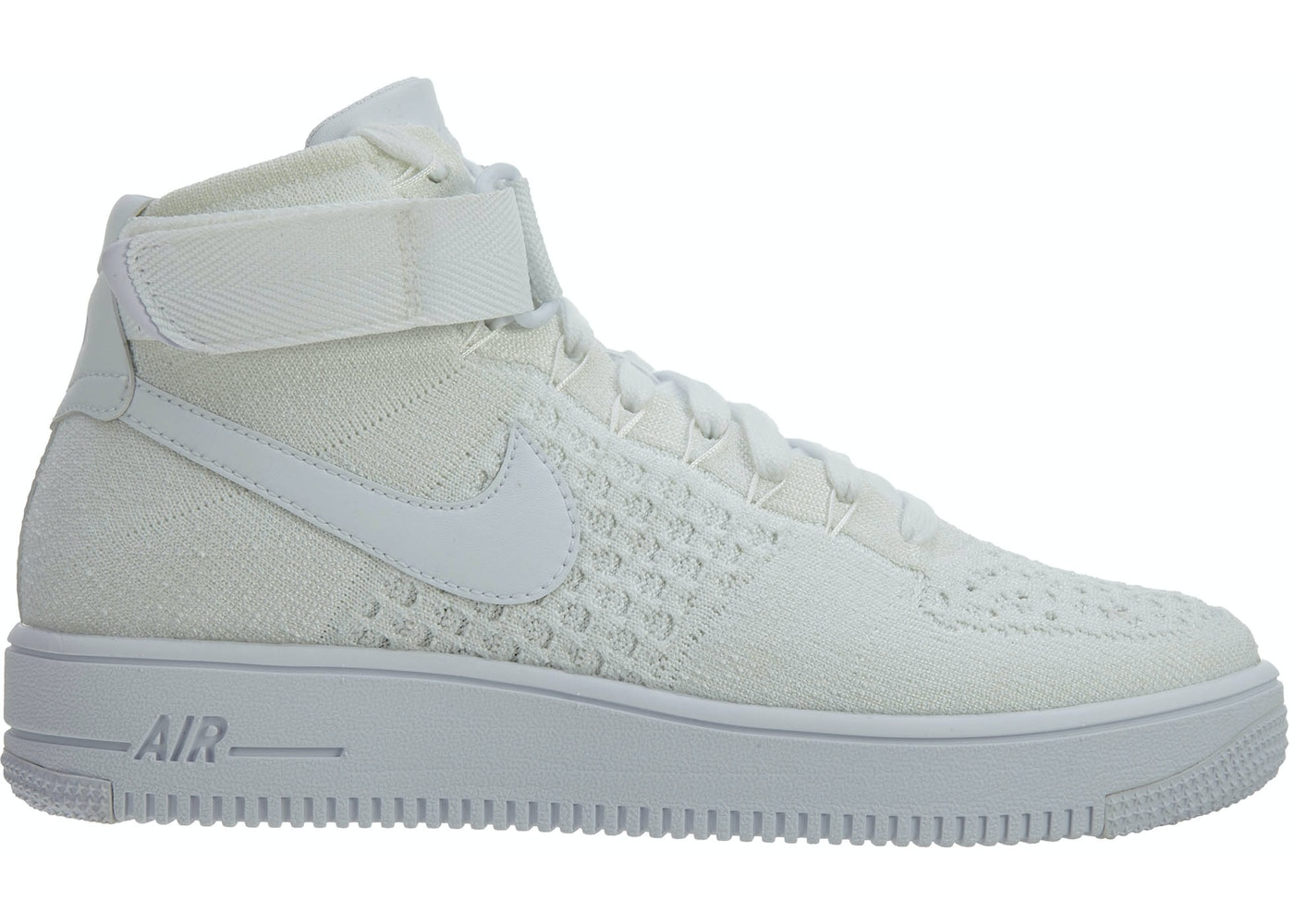 super popular 58515 1a358 Nike Af1 Ultra Flyknit Mid White/White