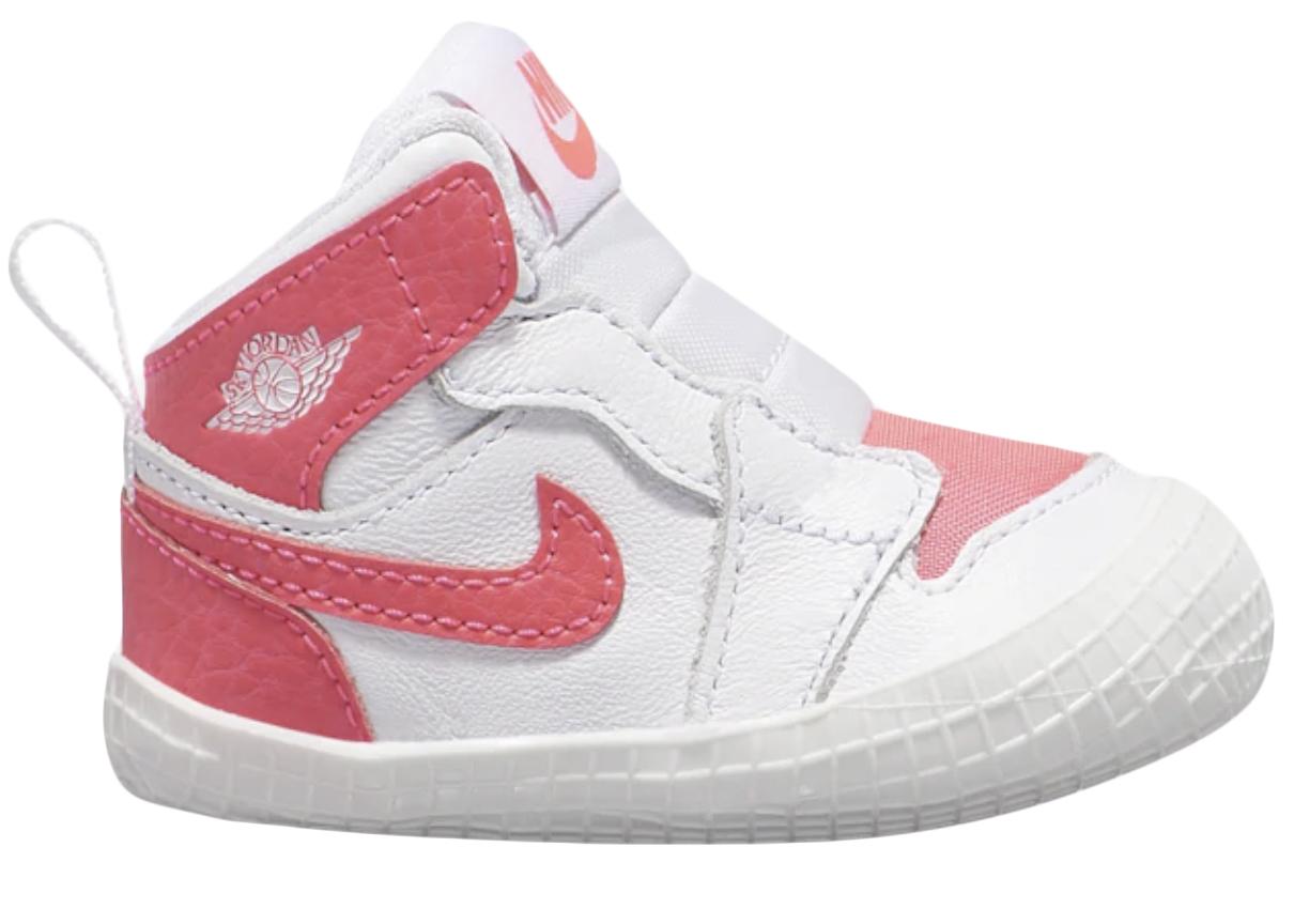 Air Jordan 1 Crib Bootie Racer Pink (I