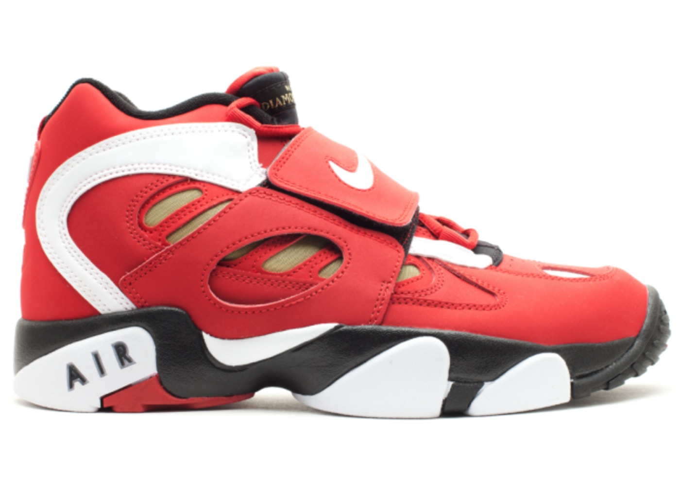 newest collection a7292 fa6cd Nike Air Diamond Turf II Red Gold (2012)