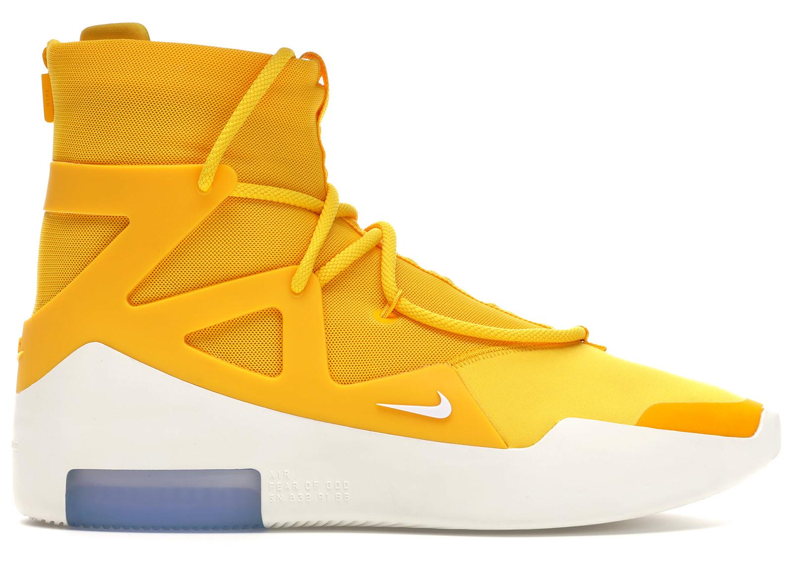 Nike Air Fear Of God 1 Yellow - AR4237-700