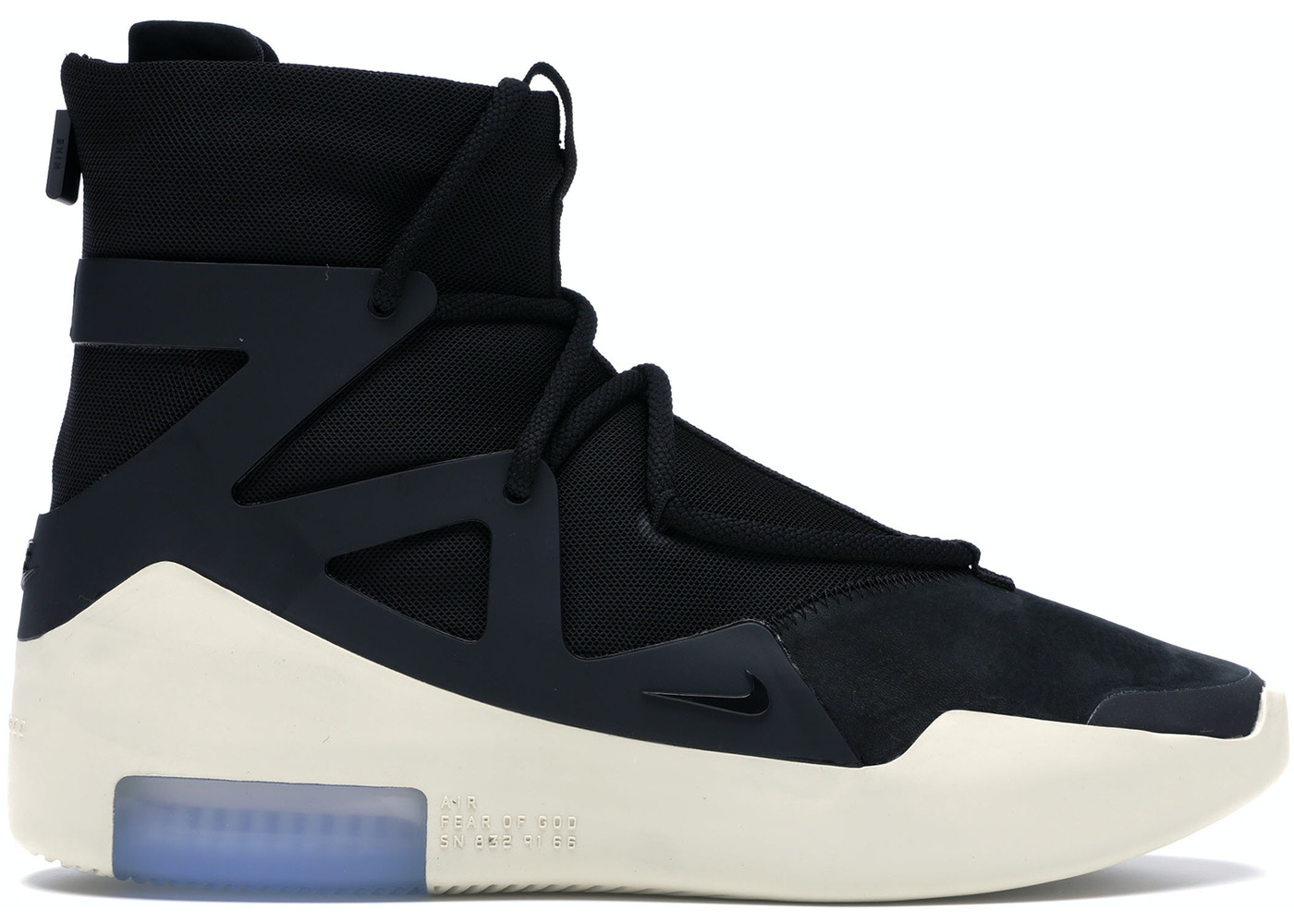 Air fear of god 1 black ar4237 001