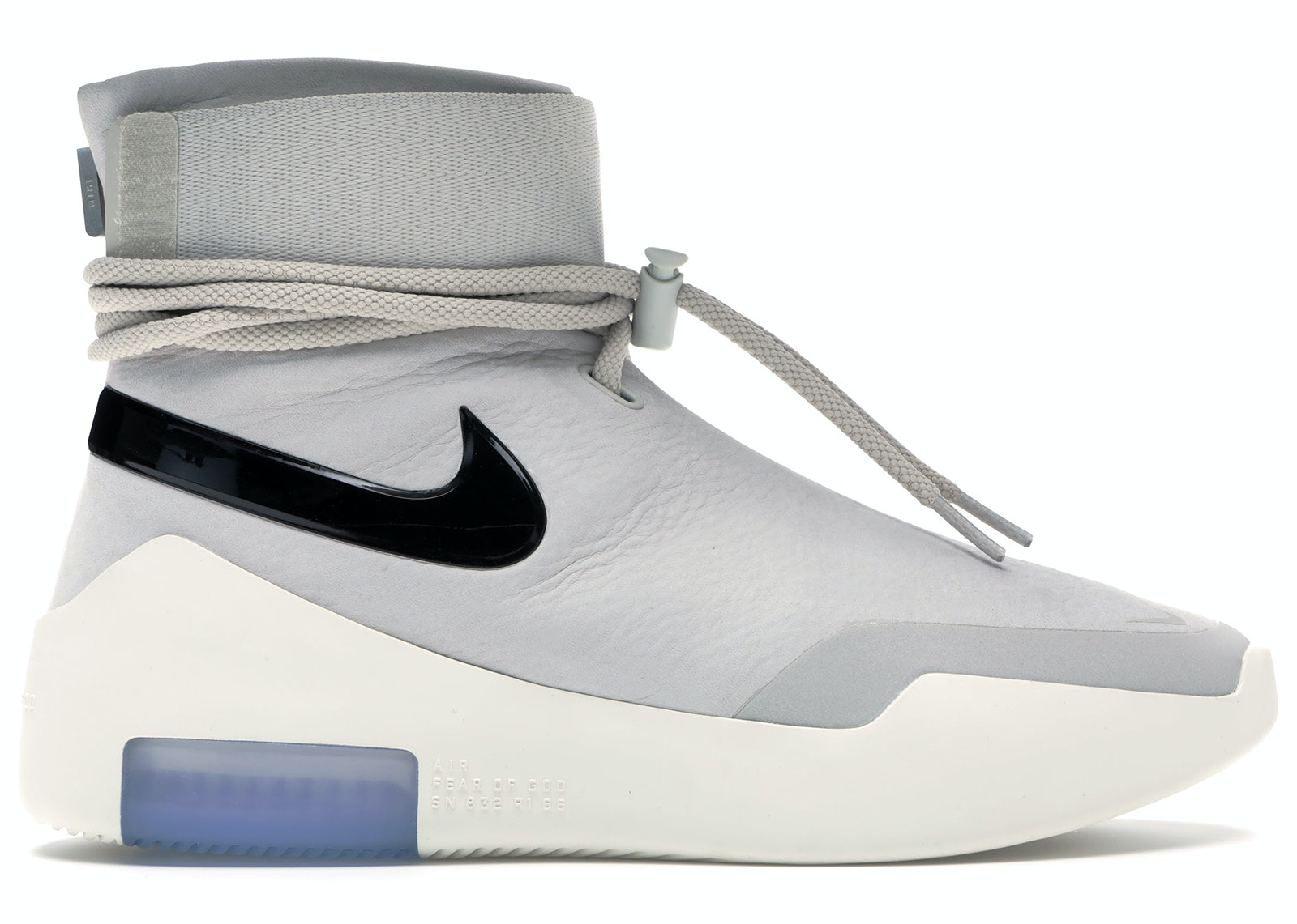 Air Fear Of God 1 SA Light Bone Black