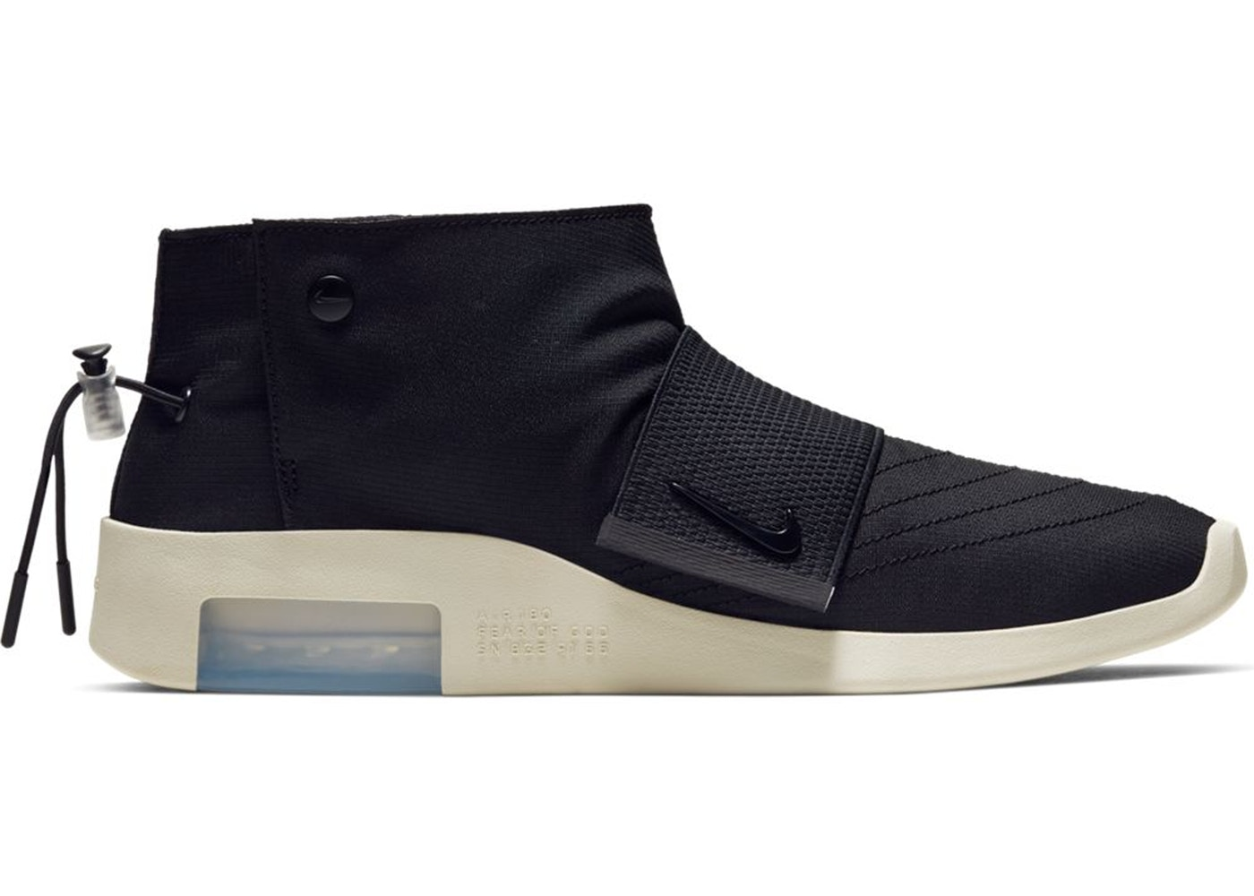 b2bb4157 Air Fear Of God Moccasin Black • Buy/Sell StockX