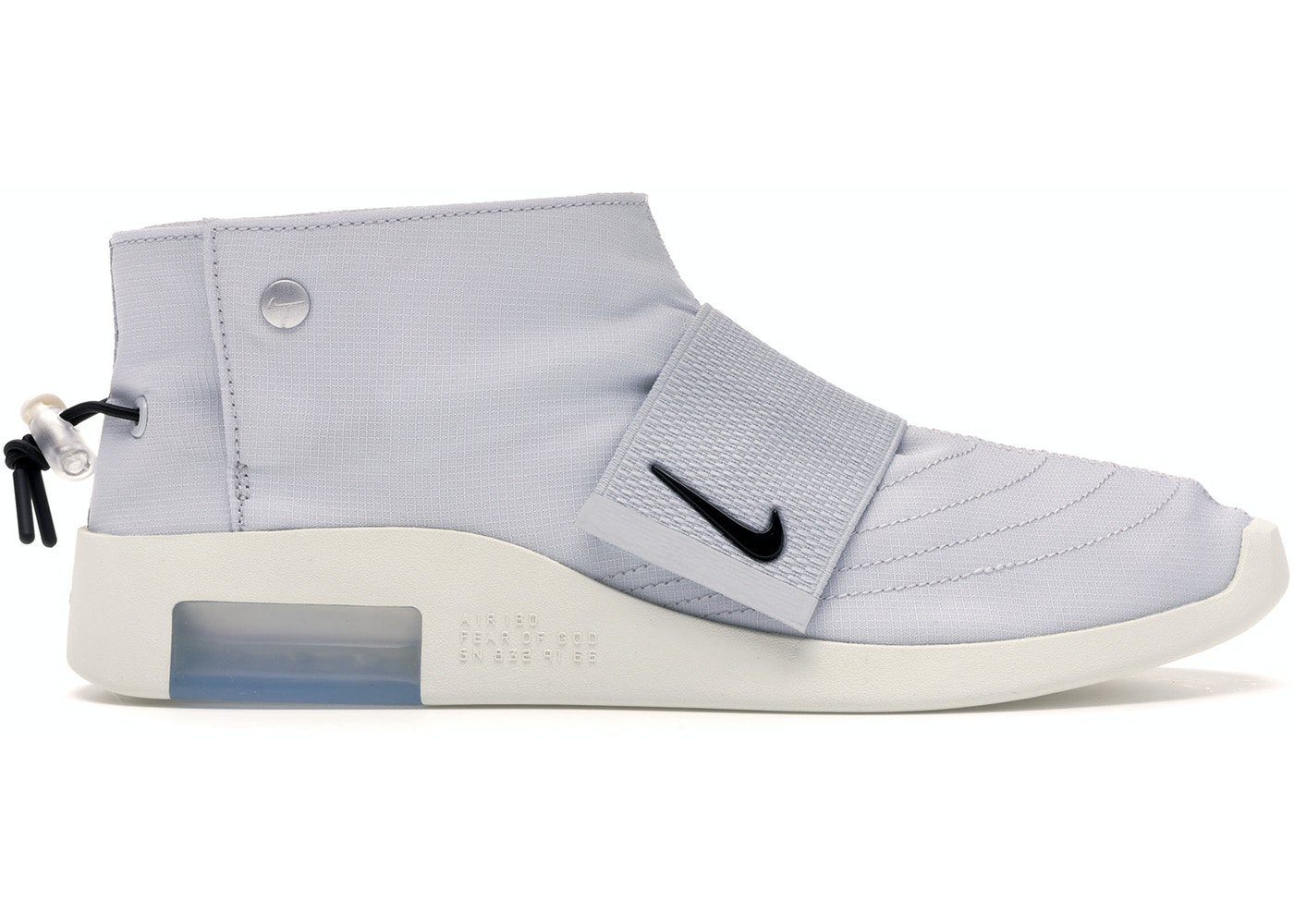 Nike Air Fear Of God Moccasin Pure Platinum - AT8086-001