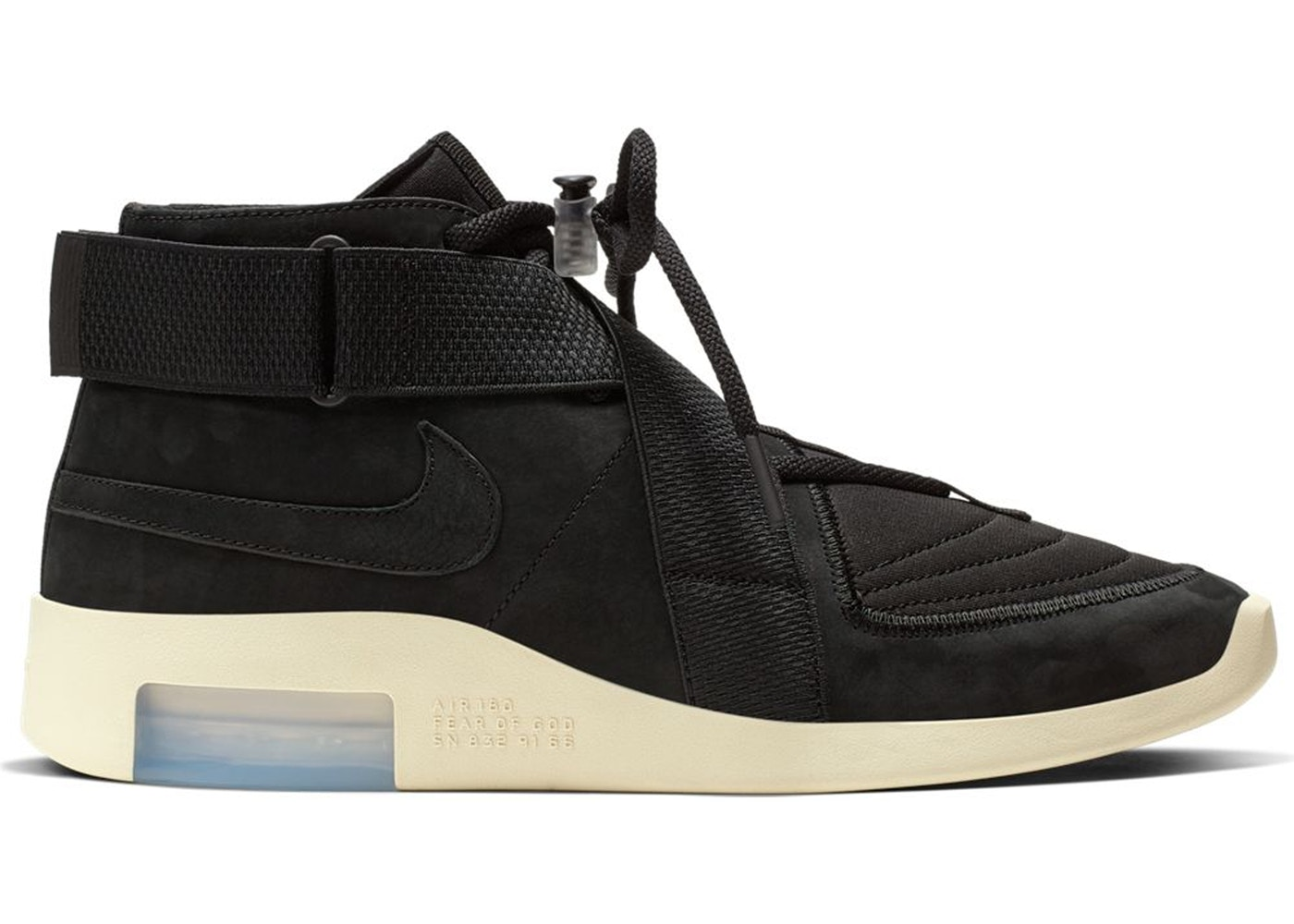 c28547da10b8b Air Fear Of God Raid Black - AT8087-002