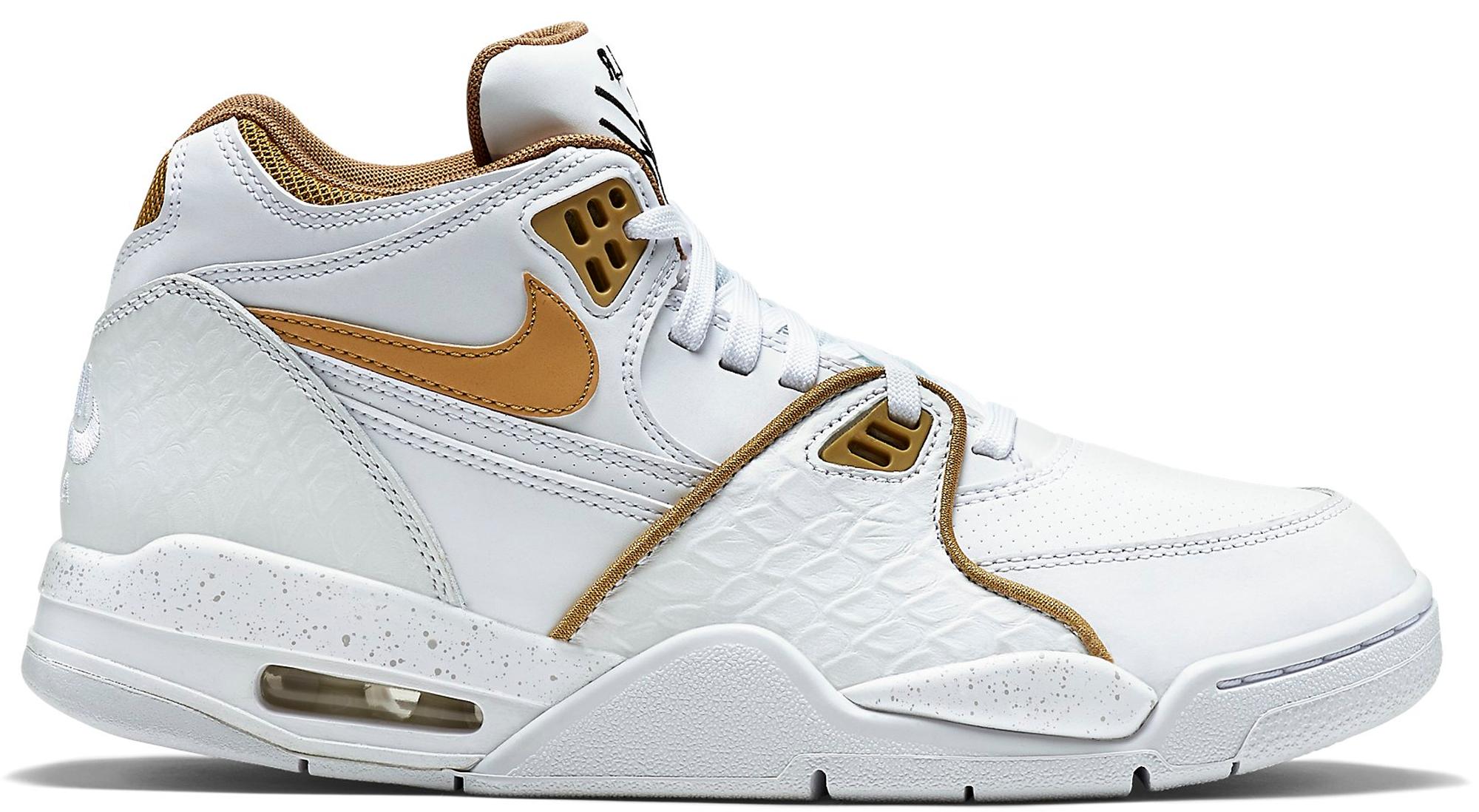 Nike Air Flight 89 White Fly Gold