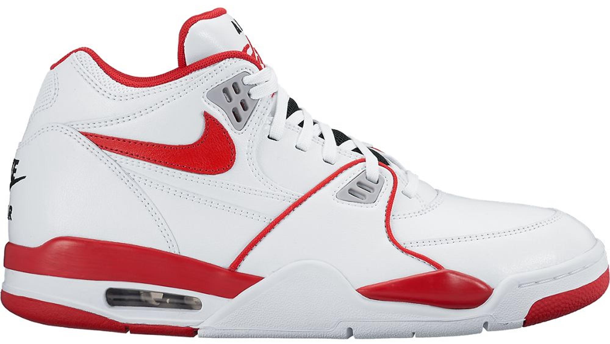 Nike Air Flight 89 White University Red
