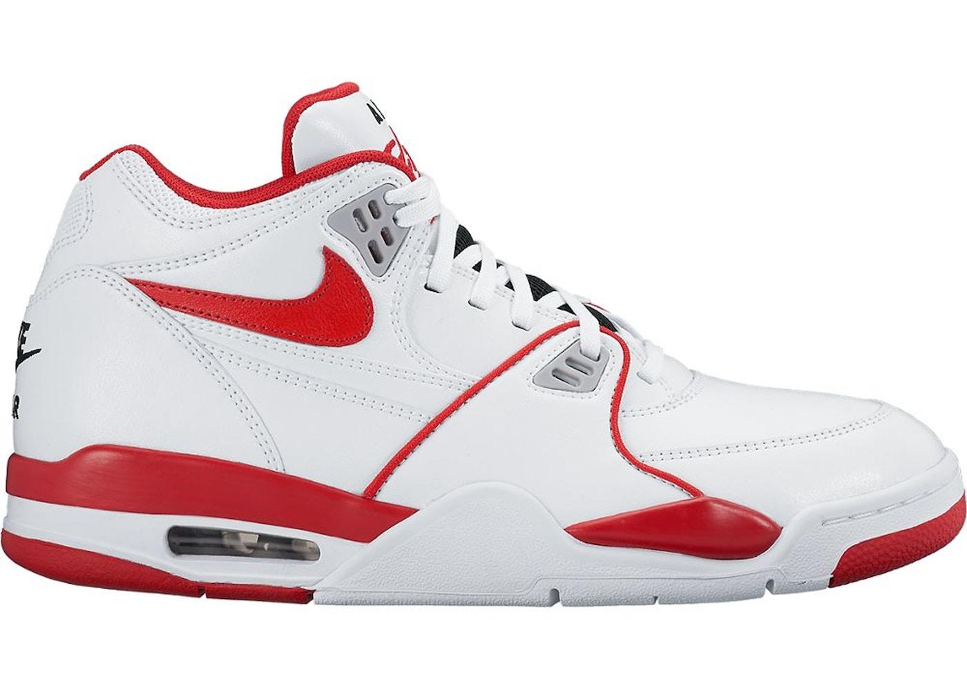 sono assonnato spessore barile  Nike Air Flight 89 White University Red - 819665-100