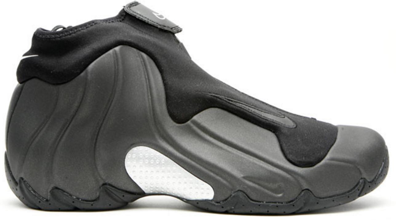 Nike Air Flightposite Black Metalic