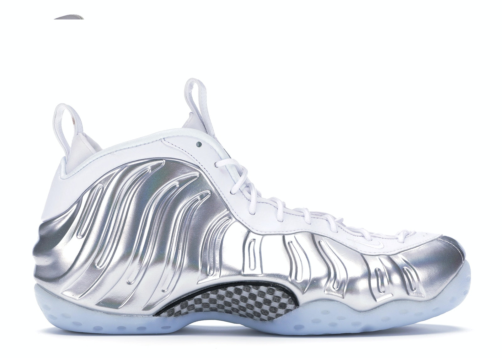 Air Foamposite One Chrome White (W)