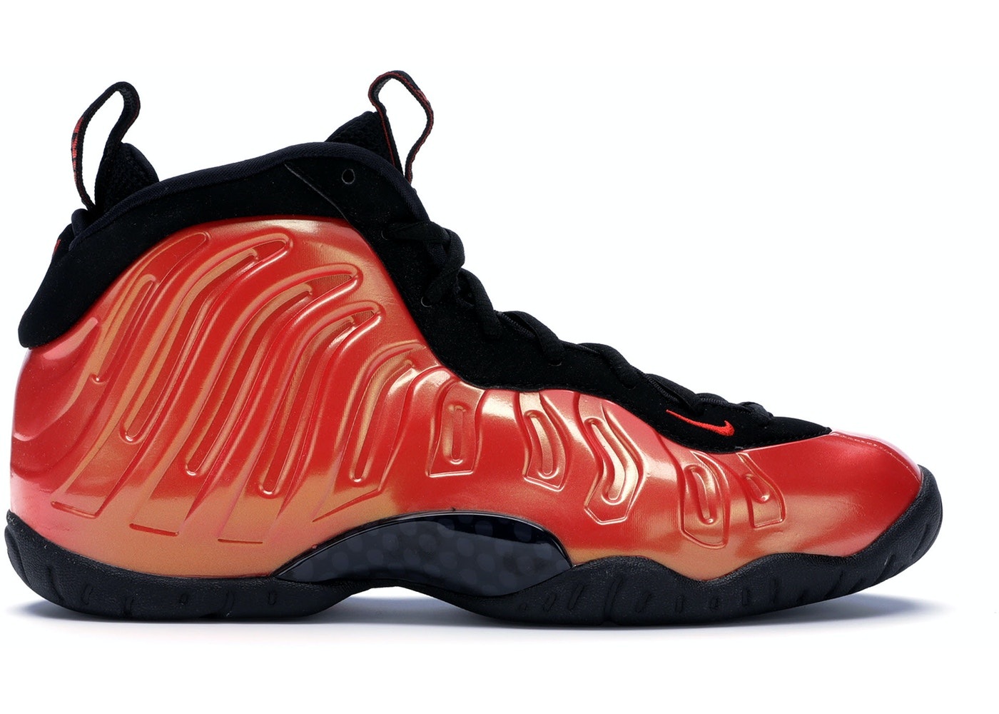 info for 7a9e9 05dac Air Foamposite One Habanero Red (GS)