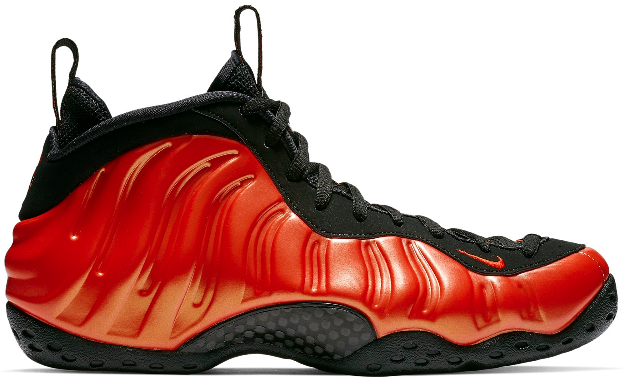 Air Foamposite One Habanero Red