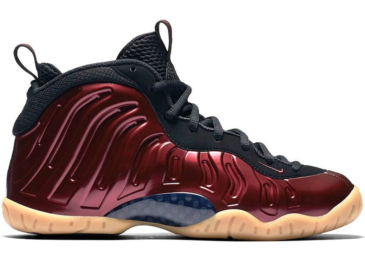 ebdddd82e1c Air Foamposite One Maroon (GS) - 644791-600
