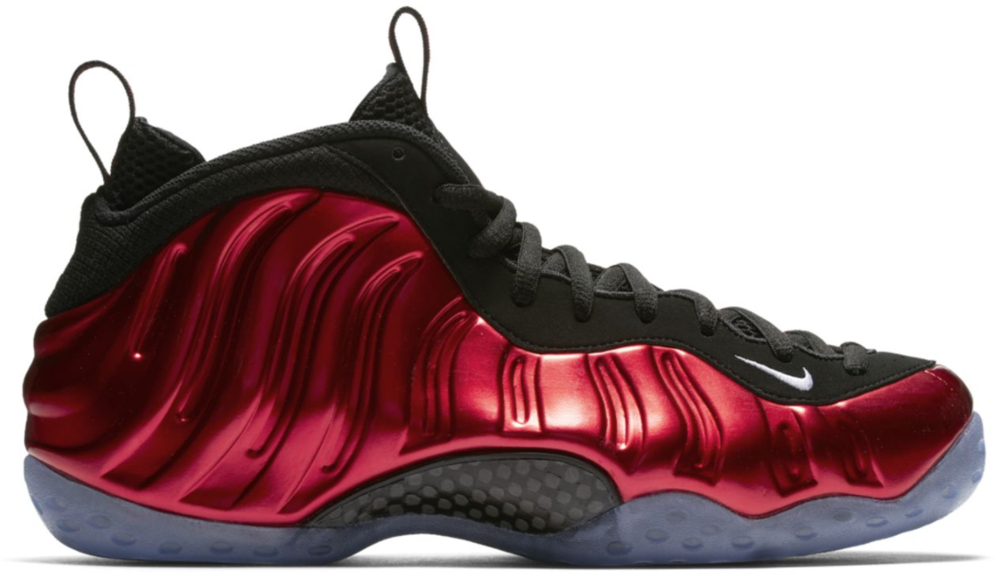 Air Foamposite One Metallic Red (2017)