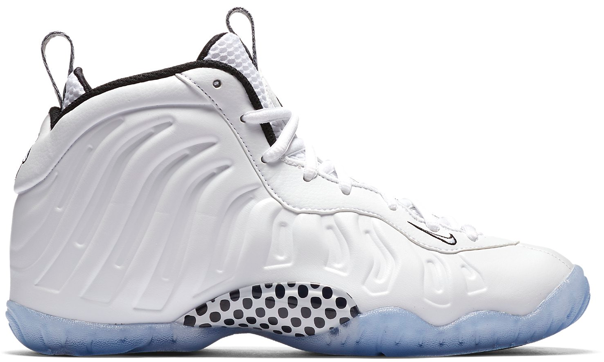 white foamposite air force ones