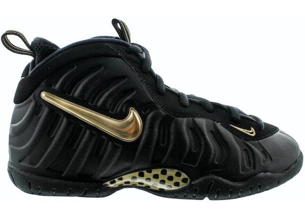 separation shoes b1e74 02335 Air Foamposite Pro Black Metallic Gold (PS)