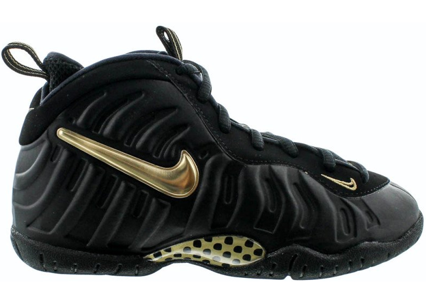 exquisite design sneakers for cheap save up to 80% Nike Air Foamposite Pro Black Metallic Gold (PS) - 843755-010