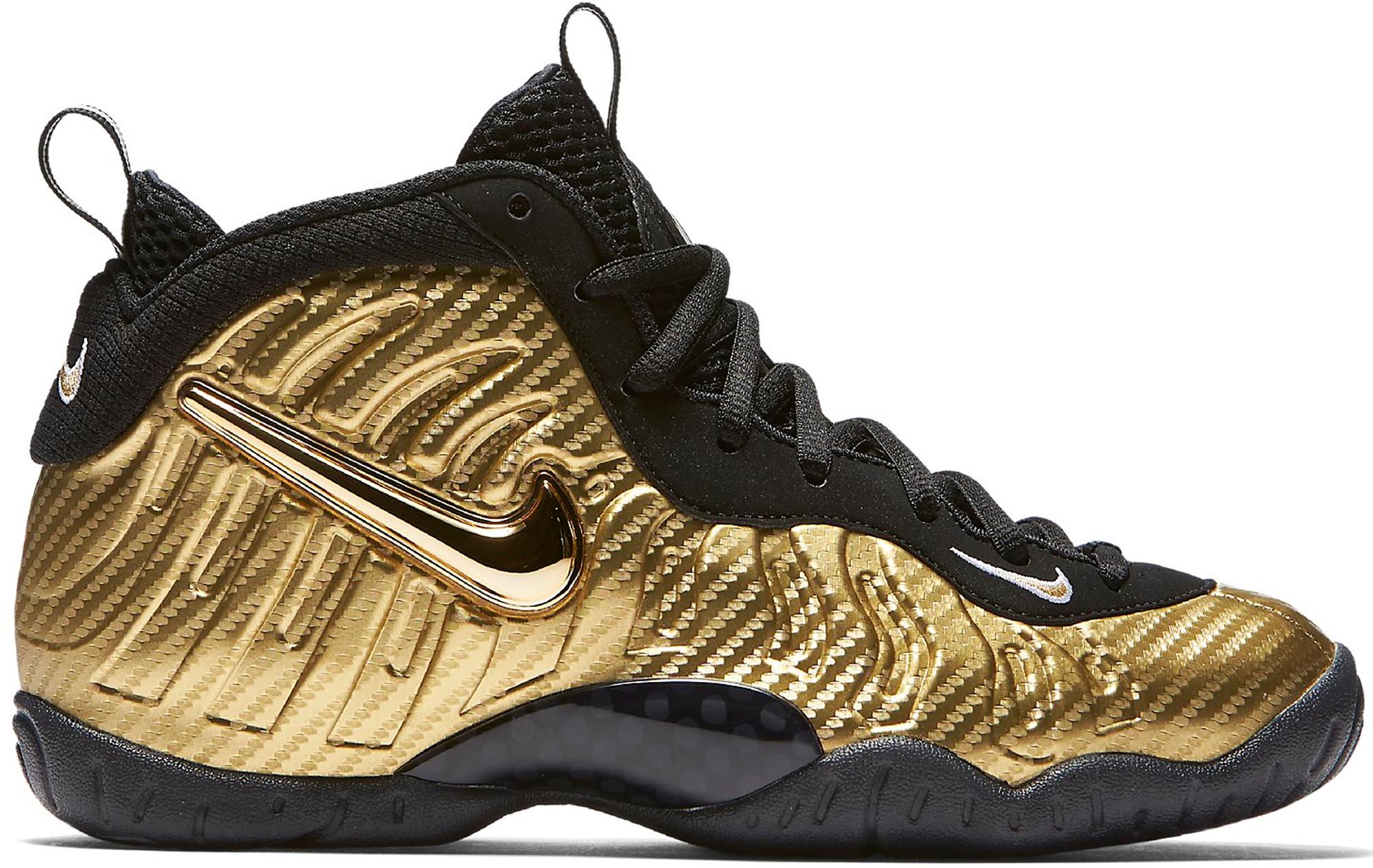 Air Nike Foamposite Pro Metallic Gold (GS)