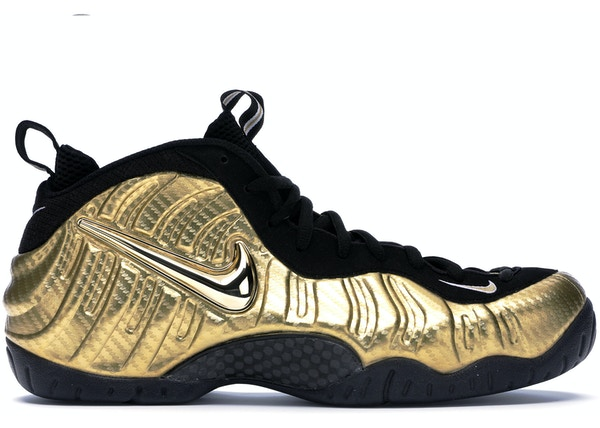 d483b975cea Air Nike Foamposite Pro Metallic Gold - 624041-701