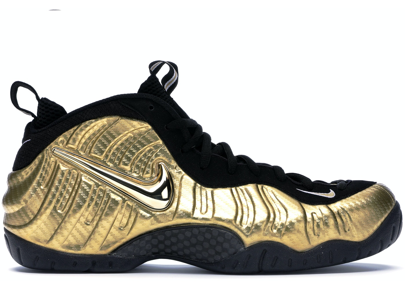 premium selection df951 95e79 Air Nike Foamposite Pro Metallic Gold