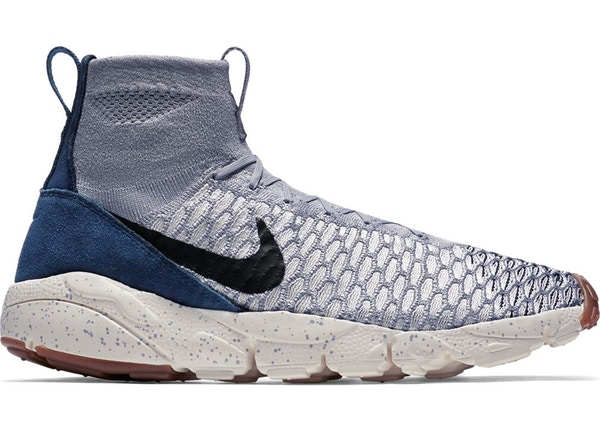 online retailer f0431 532cf Air Footscape Magista Flyknit Wolf Grey Dark Obsidian - 816560-001