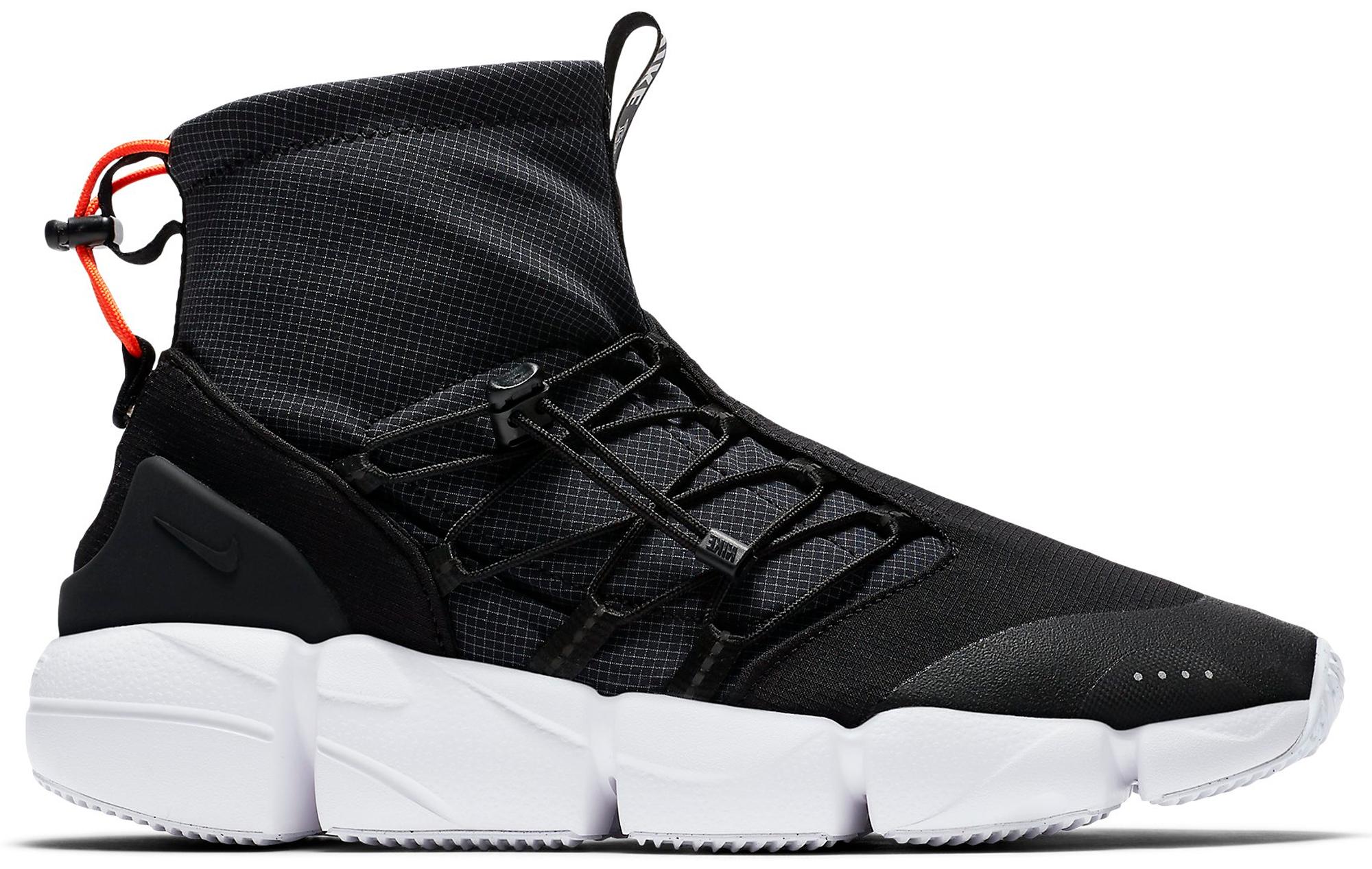 Nike Air Footscape Mid Utility DM Black
