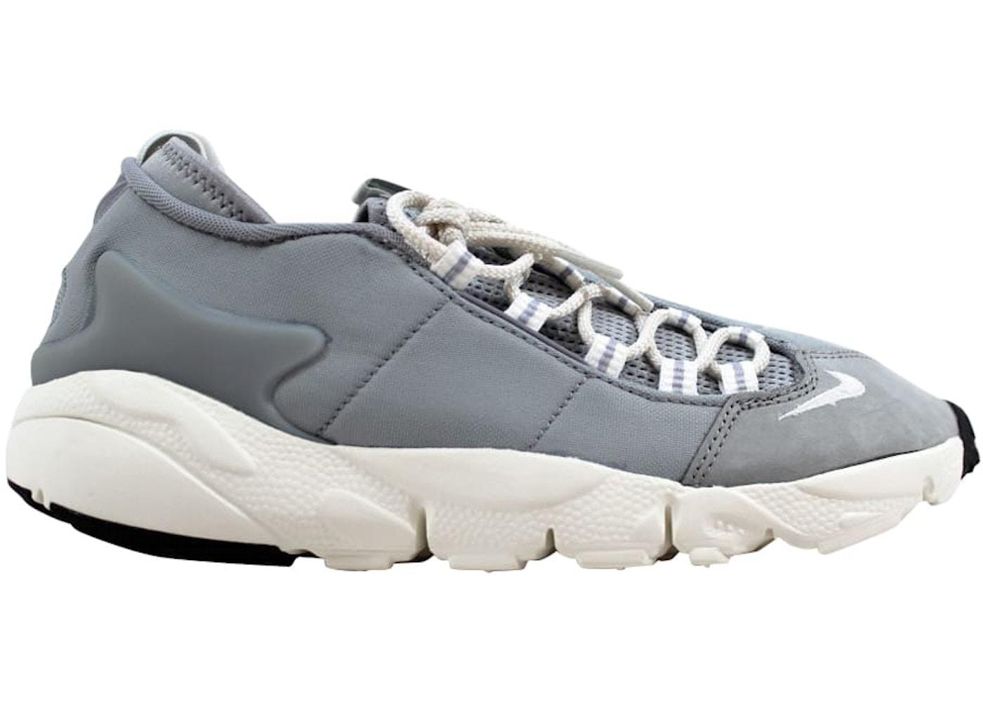 HypeAnalyzer · Nike Air Footscape NM Wolf Grey Summit White-Black 9a83108f5891