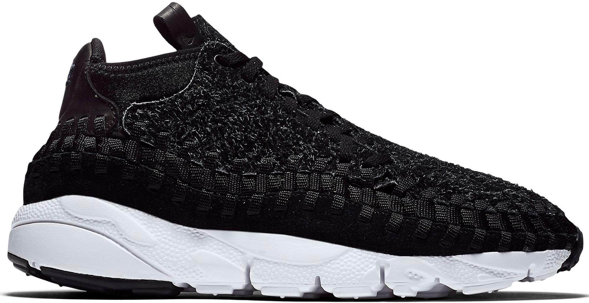 Nike Air Footscape Woven Chukka Black