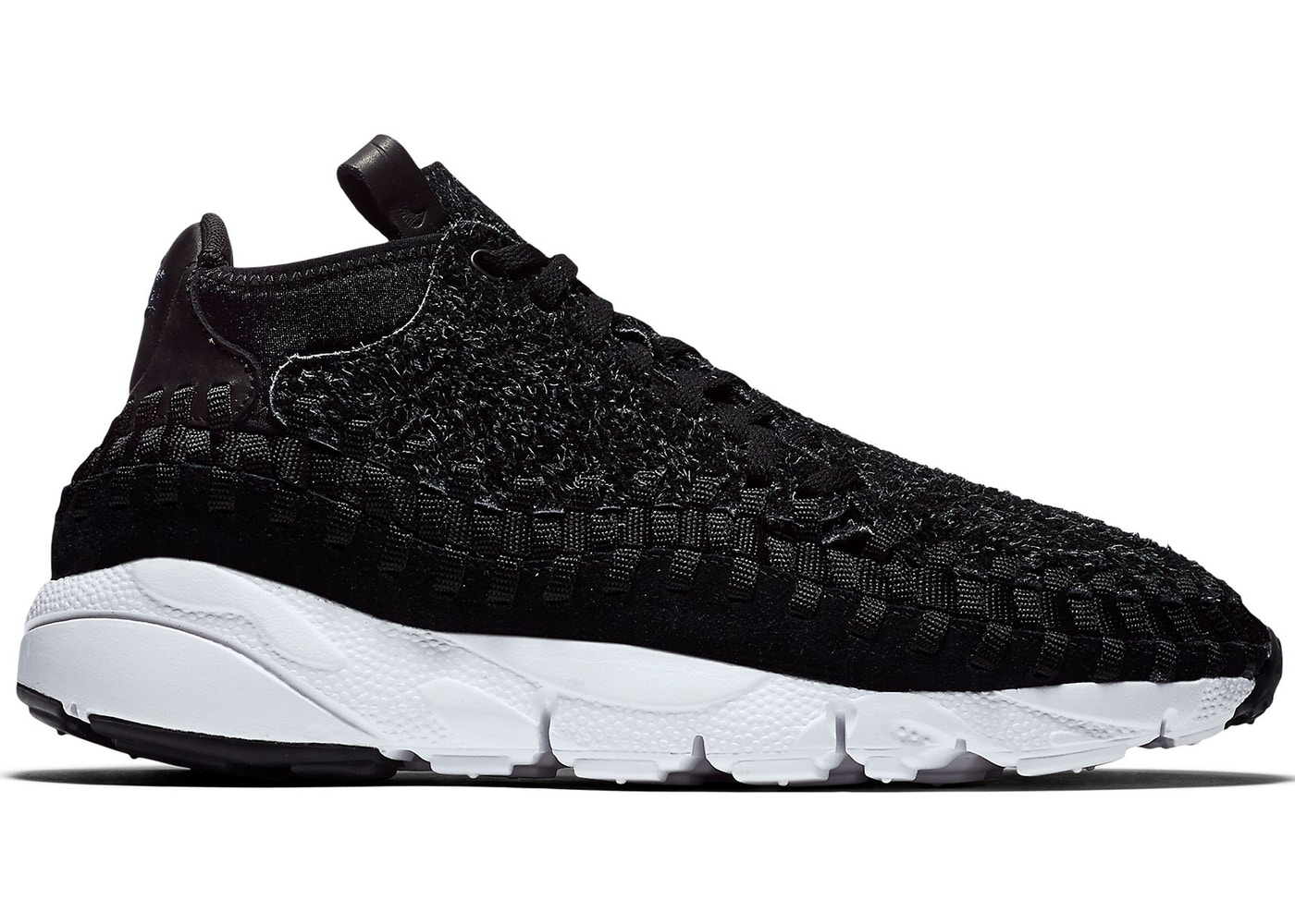 hot sale online dfa17 6a713 Air Footscape Woven Chukka Black - 913929-001