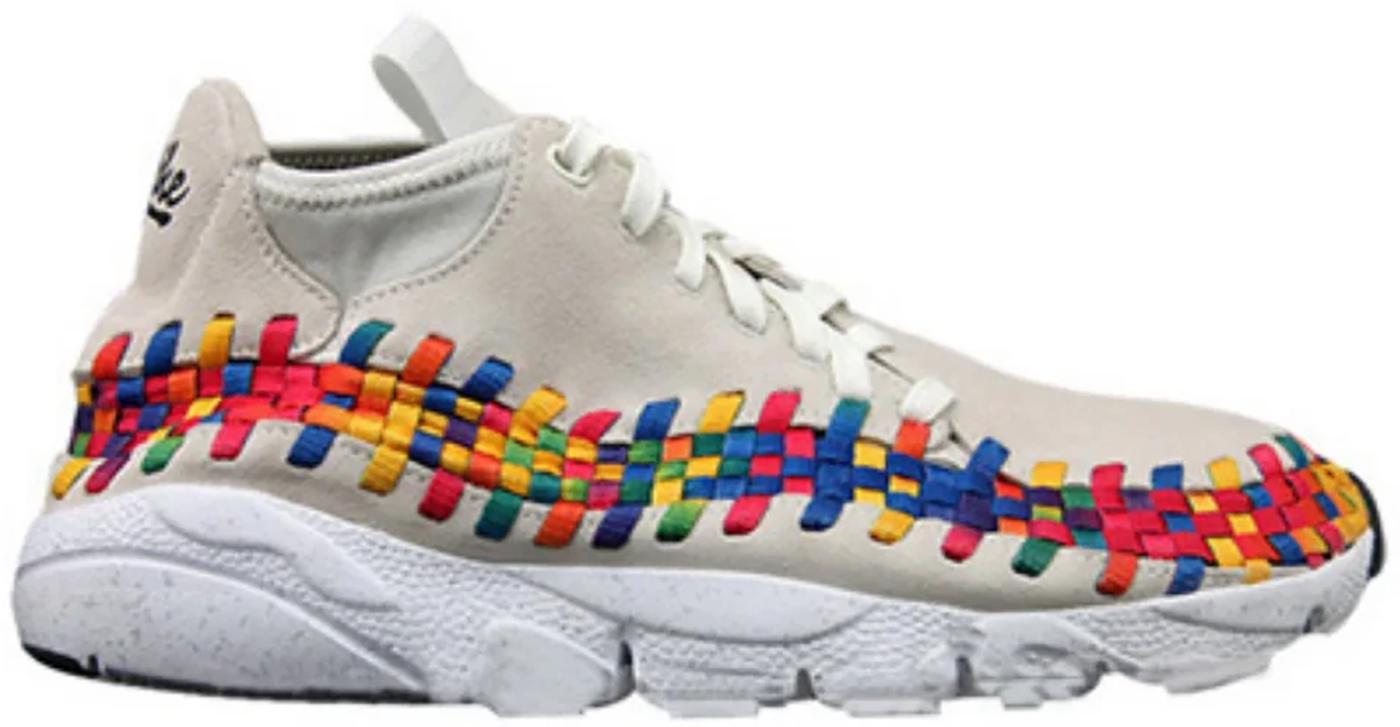Nike Air Footscape Woven Chukka Rainbow