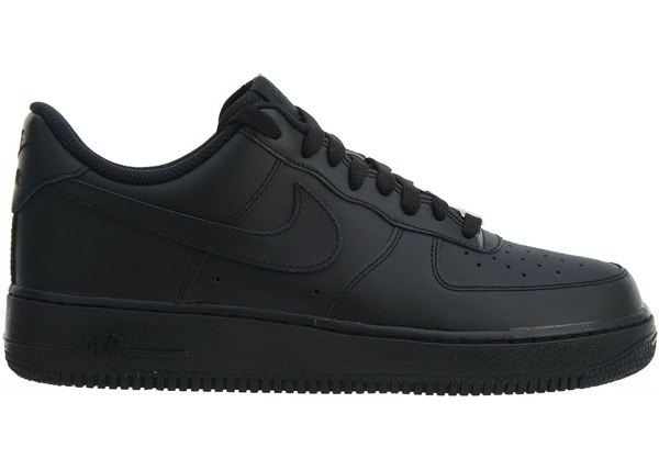 new arrival 197fc 4a281 Nike Air Force 1  07 Black Black