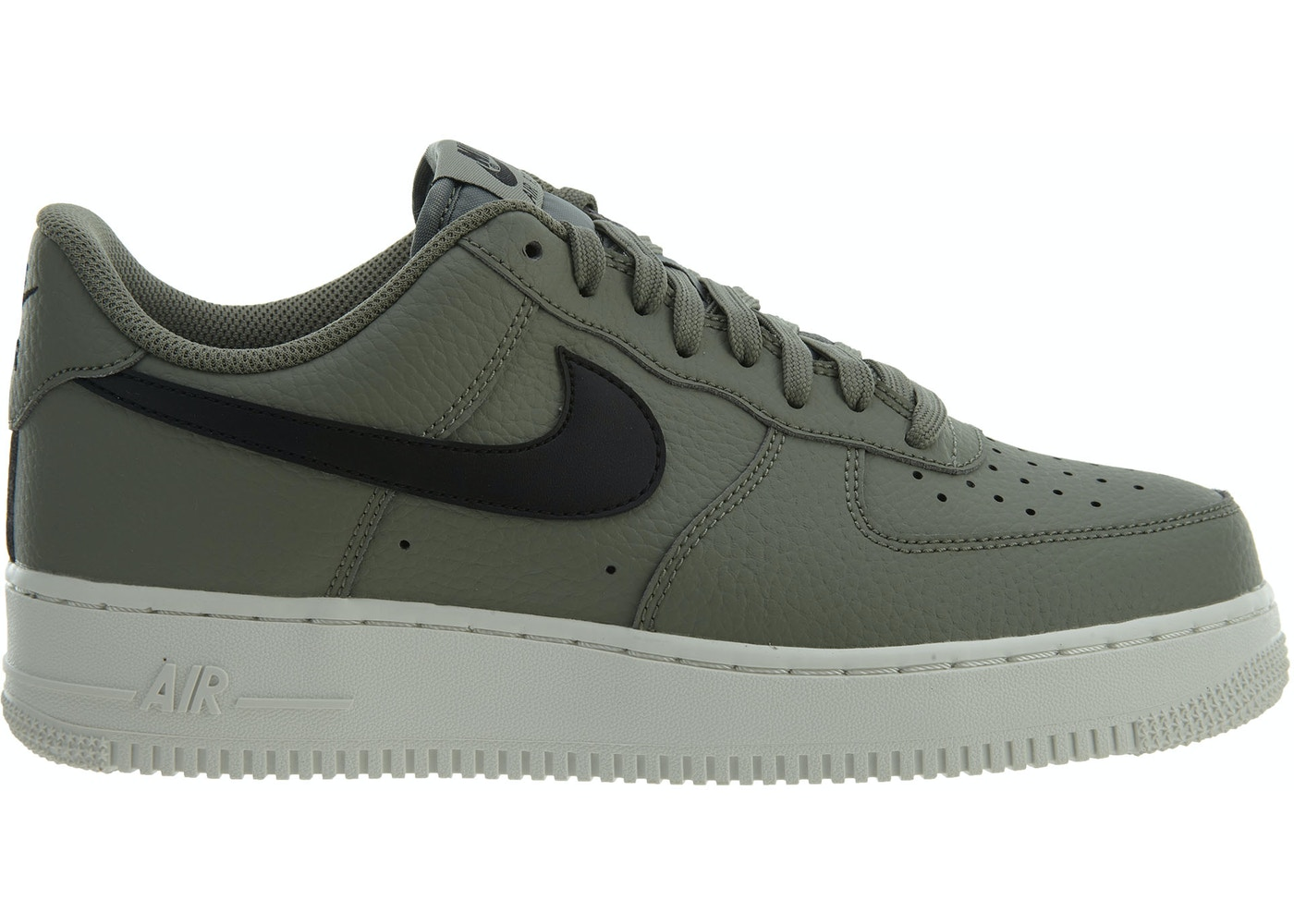 fe6a3f828d Air Force 1 07 Dark Stucco Black-Summit White