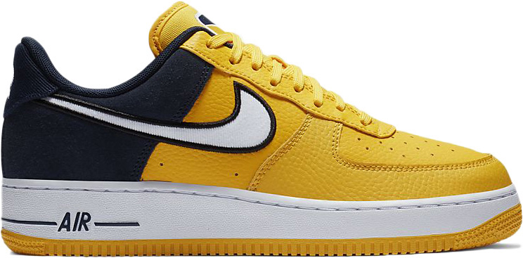 nike air force 1 07 giallo
