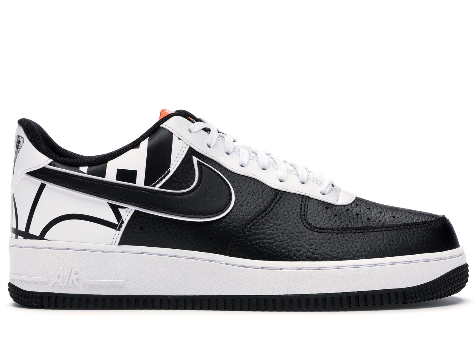 Nike Air Force 1 07 LV8 Black Black