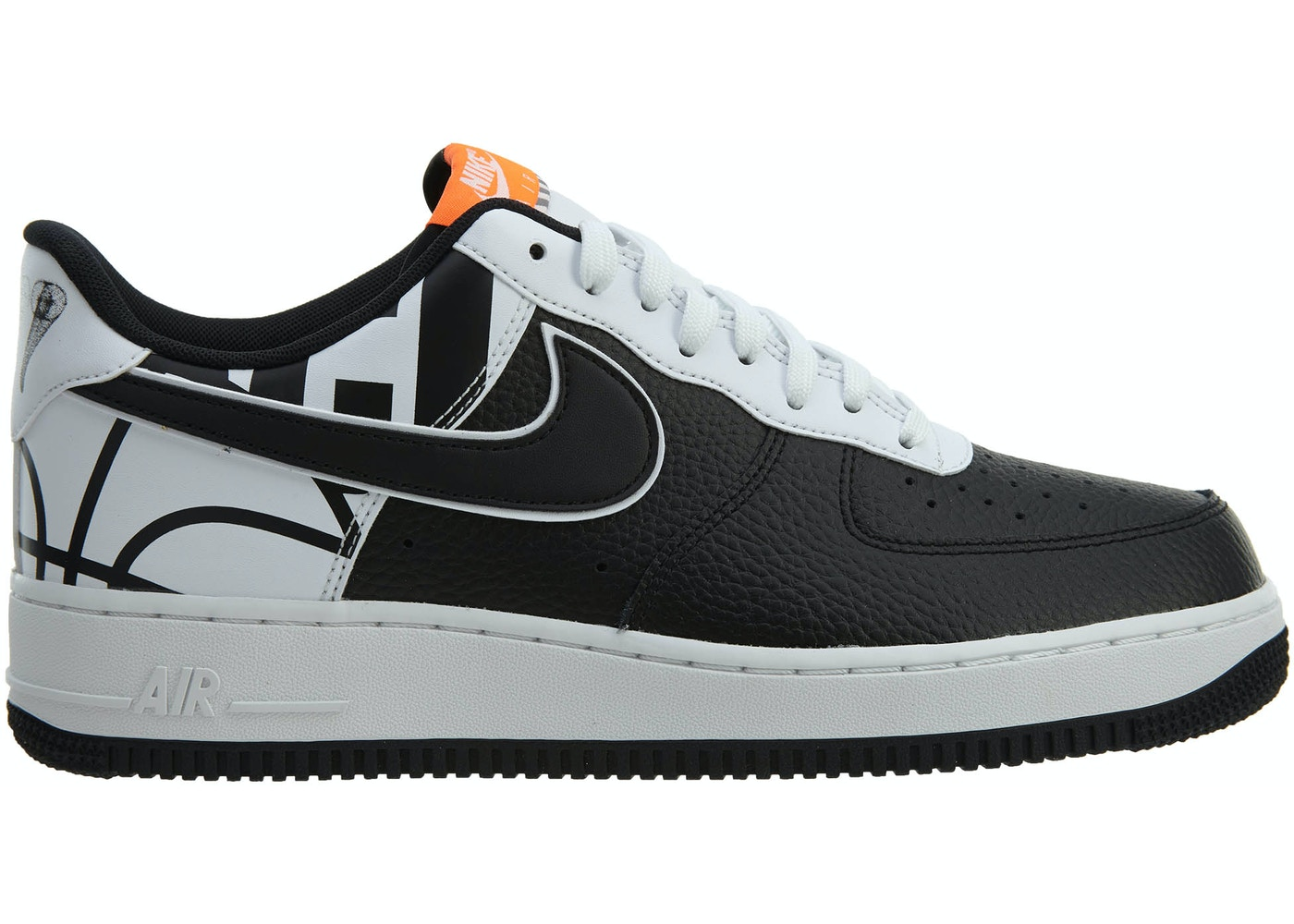 43ec95dab7 Air Force 1 07 LV8 Black Black-White