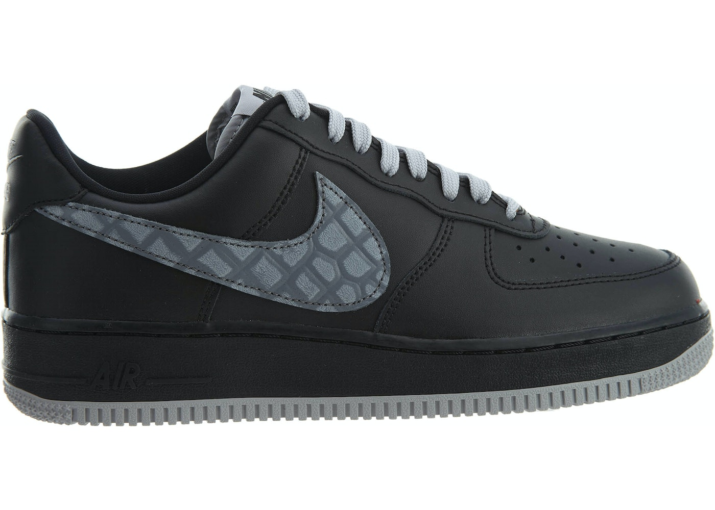 brand new 8e395 73ee0 Air Force 1 07 LV8 Black Cool Grey-Dark Grey